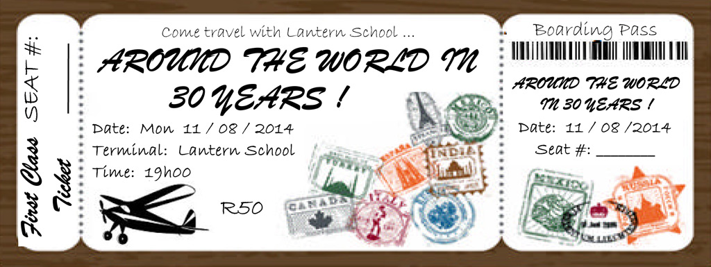 Lantern School 30 year anniversary revue 11-13 August 2014