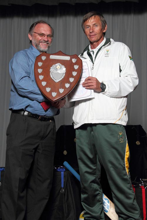Gerrie Coetzee - Special Award - Olympic long distance athletic coach