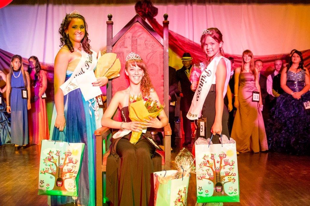 High School Jnr Miss Lantern & runners up