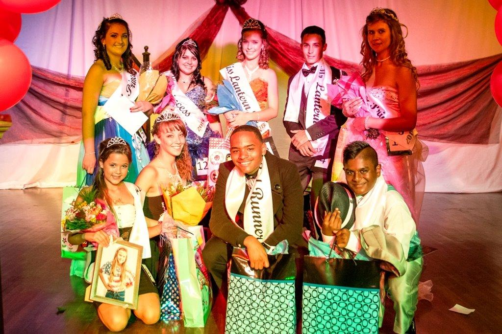 High School Mr & Miss Lantern winners