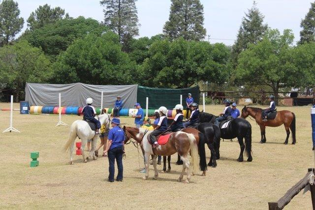 Children and their ponies were the highlights of the Sarda's Fun Day