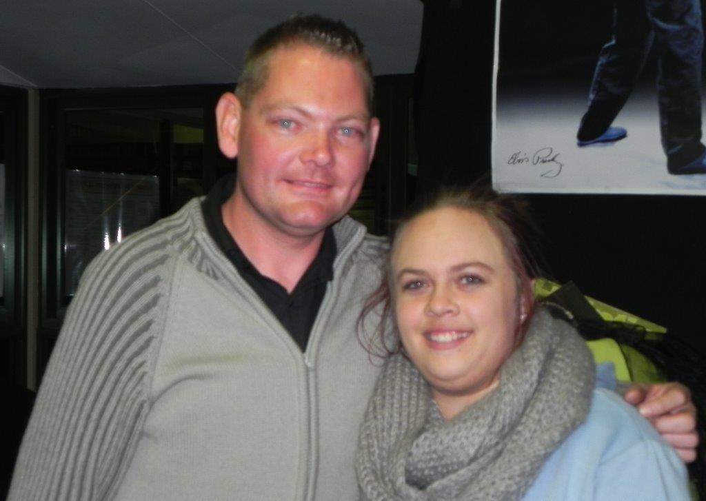 Freek Muller & Mieke van Heerden - organisers of Lantern's Got Talent