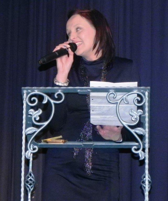 Mrs Minette Maritz - Compere of the evening