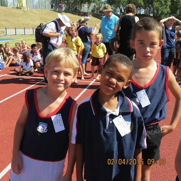Athletics at Sasolburg